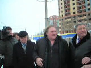 Жерар Депардье в Саранске